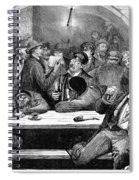 Germany: Beer Cellar, 1875 Spiral Notebook