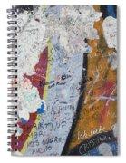 Germany, Berlin Wall Berlin Spiral Notebook