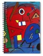 Get Going Spiral Notebook