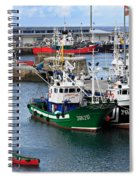 Getaria Fishing Fleet Spiral Notebook