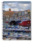 Getaria In Basque Country Spain Spiral Notebook