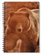 Getting A Bit Too Close Spiral Notebook