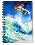 Getting Air Spiral Notebook