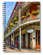 Getting Around The French Quarter - Watercolor Spiral Notebook
