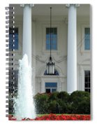 Getting Close To The White House Spiral Notebook