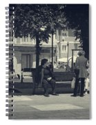 Getting The Latest News Spiral Notebook