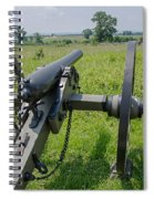 Gettysburg Cannon 2  Spiral Notebook