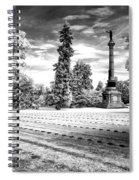 Gettysburg Soldier's Cemetery Spiral Notebook