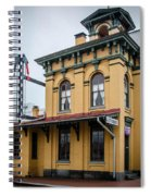 Gettysburg Train Station Spiral Notebook