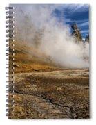 Geyser Gazer Spiral Notebook