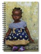 Ghanaian Child Spiral Notebook