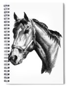 Ghazibella Thoroughbred Racehorse Filly Spiral Notebook