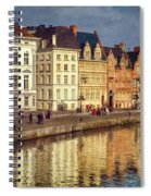 Ghent Waterfront Spiral Notebook