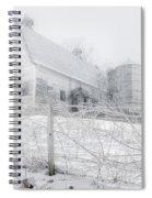 Ghost Barn Spiral Notebook