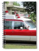 Ghost Buster Style Ambulance Spiral Notebook