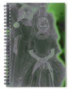Ghost Family Portrait Spiral Notebook