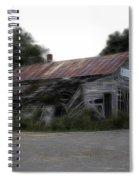 Ghost Hotel Spiral Notebook
