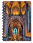 Ghost In The Cathedral Spiral Notebook