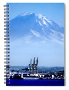 Ghost Mountain Spiral Notebook