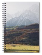 Ghost Mountains Spiral Notebook