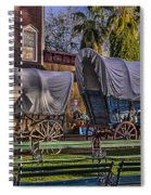 Ghost Of Old West No.1 Spiral Notebook