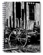 Ghost Of The Town Spiral Notebook