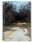 Ghost Road IIi Spiral Notebook