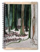 Ghost Stories Forest Graveyard By Jrr Spiral Notebook
