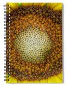 Ghost Sunflower Spiral Notebook