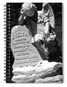 Ghost Town Little Angle Spiral Notebook