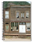 Ghost Town Of Saint Elmo Spiral Notebook