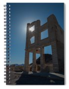 Ghost Town - Rhyolite Spiral Notebook