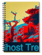 Ghost Tree Poster Spiral Notebook
