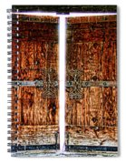 Ghostly Doors By Diana Sainz Spiral Notebook