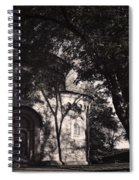 Ghostly Fortress Spiral Notebook