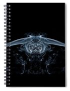 Ghostly Owl Spiral Notebook