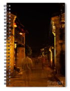Ghostly Street Spiral Notebook