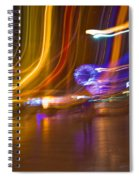 Ghosts Of The Lights Spiral Notebook
