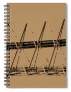 Giant Erector Set Spiral Notebook