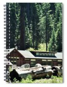 Giant Forest Museum Portrait Spiral Notebook