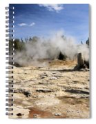 Giant Geyser Group Spiral Notebook