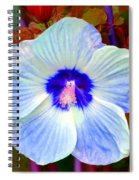 Giant Hibiscus Spiral Notebook