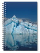 Giant Ice Floes Spiral Notebook
