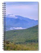 Giant Mountain From Owls Head Spiral Notebook