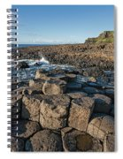 Giant S Causeway, Antrim Coast Spiral Notebook