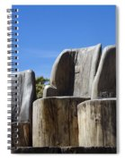 Giant Seats Spiral Notebook