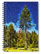 Giant Tree Abstract Spiral Notebook