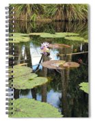 Giant Water Lilies Spiral Notebook