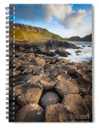 Giant's Causeway Circle Of Stones Spiral Notebook