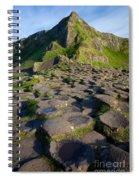 Giant's Causeway Green Peak Spiral Notebook
